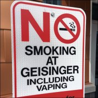 No Smoking or Vaping Allowed On Campus