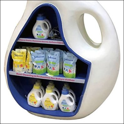 POPON Baby Laundry Detergent Replica Feature