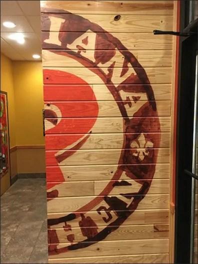 Popeyes Corner Wrap Branding Concept