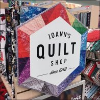 Quilt Shop Promotional Signage Feature
