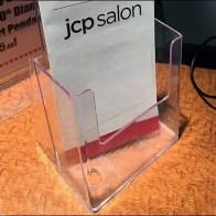 Salon Service Menu Acrylic Holder Square