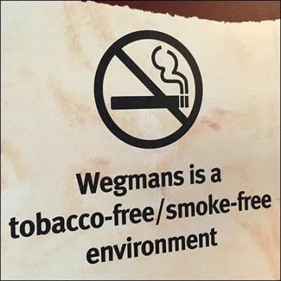 Tobacco Free Smoke Free Environment Sign