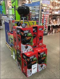 Weber Mini Grill Merchandising Display