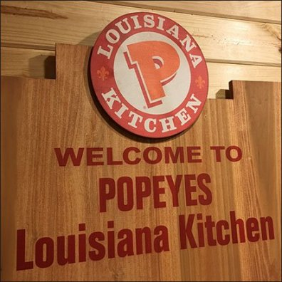 Welcome to Popeyes In-Store Brand History