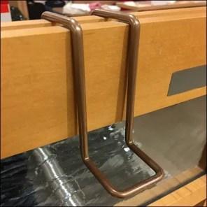 All-Wire Rack-End Pin-Up Loop Hook