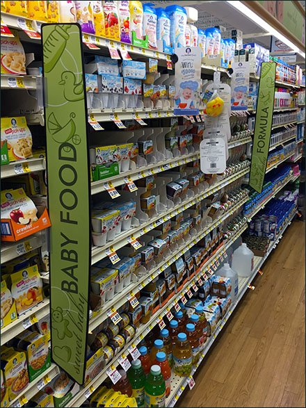 Baby Food Aisle Category Management