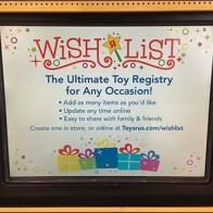 Freestanding Baby Registry Kiosk Display