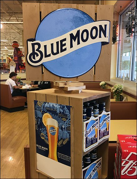 Blue Store Fixtures - Blue Moon Rustic Wood Stacked Spinner
