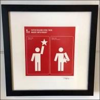 Catch A Falling Star Framed Store Art Feature