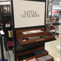 Coach Little Luxuries Scarf Display Trays