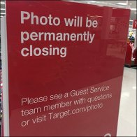 Department Closing Warning Sign