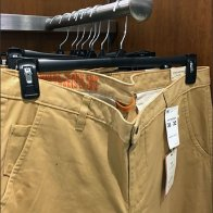 Dockers Branded Faceout Finial for Khakis