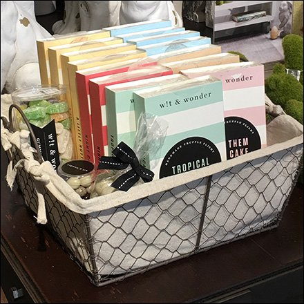 Fabric Lined Wire Mesh Easter Basket at Nordstrom Feature