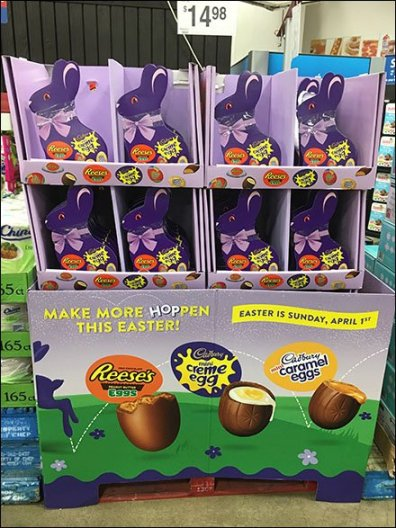 Herd of Bunny Boxed Eggs For Easter