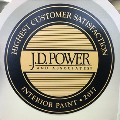 J. D. Power In-Store Customer Satisfaction Award