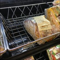 Kings Grab-N-Go Sandwich Wire Baskets Feature