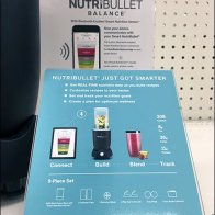 Lonely NutriBullet Negative Space Display