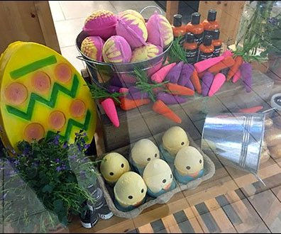 Lush Handmade Easter Luxury Cosmetics