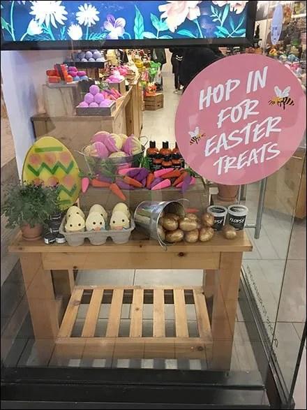Lush Handmade Easter Luxury Cosmetics