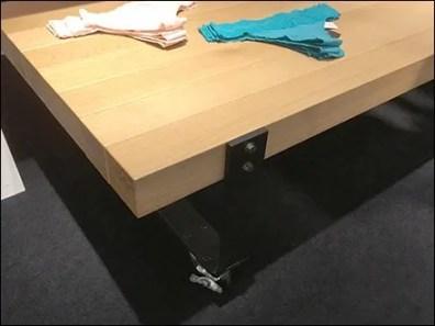Wheeled Table Panty Display by Natori