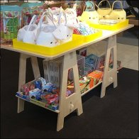 Nordstroms Sawhorse Trestle Table For Easter Feature