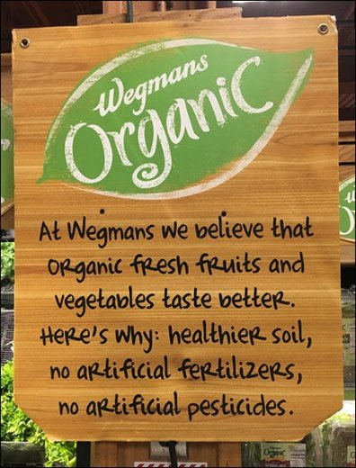 The How and Why of Organic In-Store