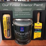 Paint Definition Endcap Display by Sherwin Williams 1