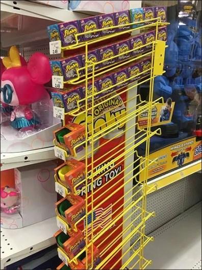 Slinky Gravity-Feed Endcap Sidekick Display