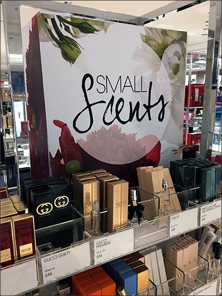 Small Scents Travel Size Island Display