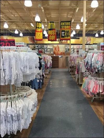 Store Closing Signs At Babies R Us