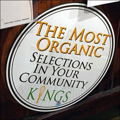 Organic Produce Selections In-Store Promise