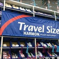 Travel Size Wall-of-Totes Merchandising