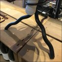 Wine Bottle Table Stand Inverted Display