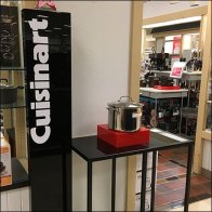All Star Cuisinart Cookware Display Feature