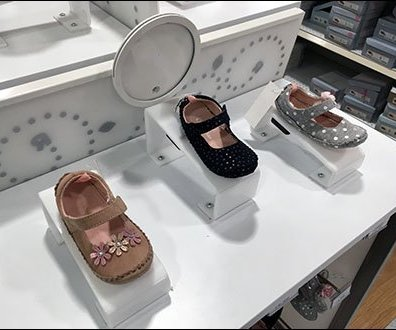 Baby Shoe Risers Permanently Mounted 2