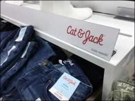 Magnetic Strip Sign For Cat & Jack Branding