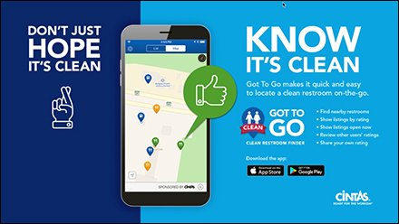 Cintas Got To Go Restroom App Launched