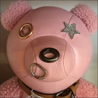 Coach Pink Teddy Bear Personified Feature