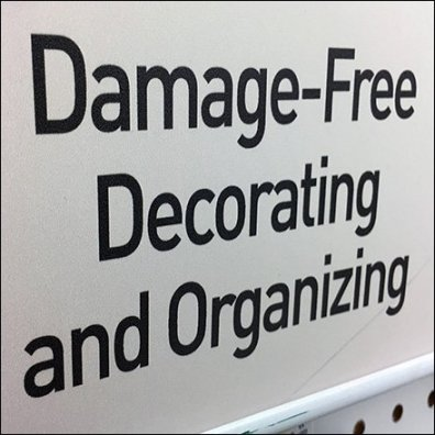 Command Strip Damage Free Decorating Tag Line