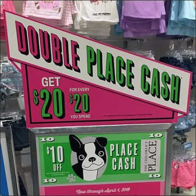 Diagonal Double Cash Sign Concept Feature