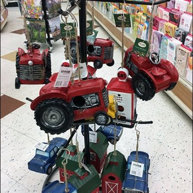 Ballstop-Equipped Freestanding Tractor Tree