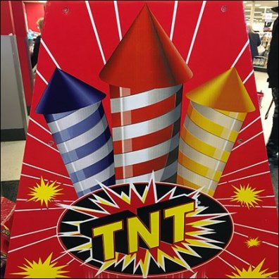 Fireworks Celebration Mass Merchandising Feature