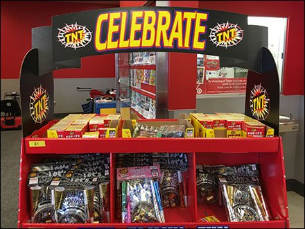 Safe Family Fun Fireworks Display