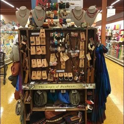 Handmade Display for Handmade Fashion Jewelry