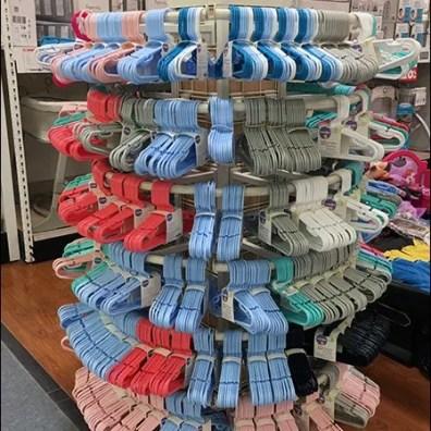 Infant Clothes Hanger Circular Rack Display