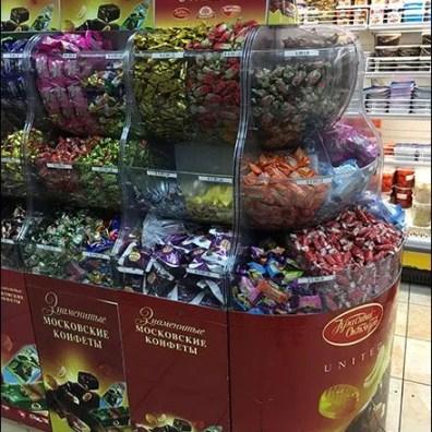 International Foods Famous Moscow Sweets Bulk Bins