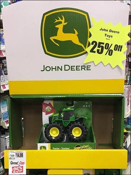 John Deere Licensed Tractor Display