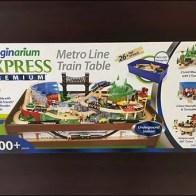 Metro Train Line Table Pick Card