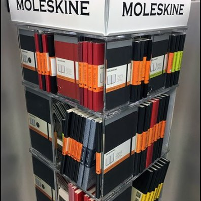 Moleskine Circular-Base Spinner Tower