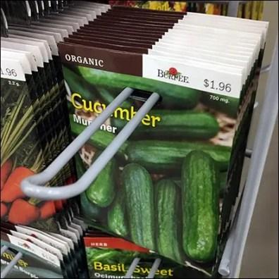 Organic Burpee Seed Loop Hook Feature